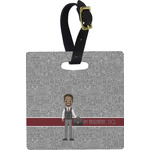 Lawyer / Attorney Avatar Luggage Tags (Personalized)