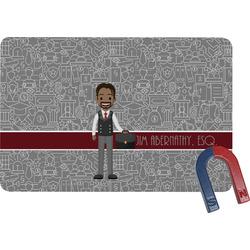 Lawyer / Attorney Avatar Rectangular Fridge Magnet (Personalized)
