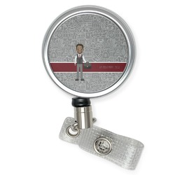 Lawyer / Attorney Avatar Retractable Badge Reel (Personalized)