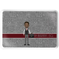 Lawyer / Attorney Avatar Serving Tray (Personalized)