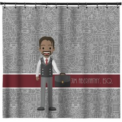 Lawyer / Attorney Avatar Shower Curtain (Personalized)
