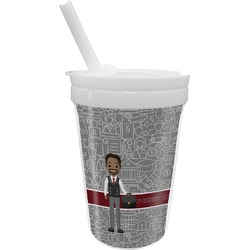 Lawyer / Attorney Avatar Sippy Cup with Straw (Personalized)