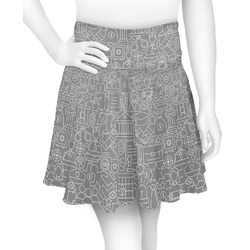 Lawyer / Attorney Avatar Skater Skirt (Personalized)