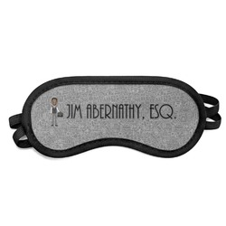 Lawyer / Attorney Avatar Sleeping Eye Mask (Personalized)