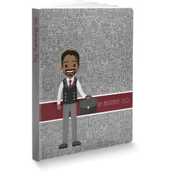 Lawyer / Attorney Avatar Softbound Notebook (Personalized)