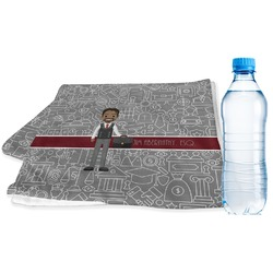 Lawyer / Attorney Avatar Sports & Fitness Towel (Personalized)