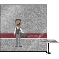 Lawyer / Attorney Avatar Square Table Top (Personalized)