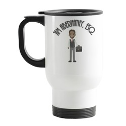 Lawyer / Attorney Avatar Stainless Steel Travel Mug with Handle