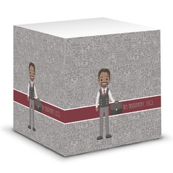 Lawyer / Attorney Avatar Sticky Note Cube (Personalized)
