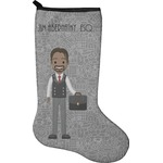 Lawyer / Attorney Avatar Christmas Stocking - Neoprene (Personalized)