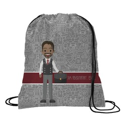 Lawyer / Attorney Avatar Drawstring Backpack (Personalized)