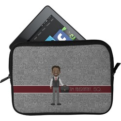 Lawyer / Attorney Avatar Tablet Case / Sleeve (Personalized)