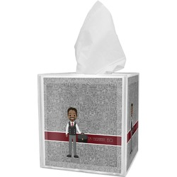 Lawyer / Attorney Avatar Tissue Box Cover (Personalized)