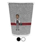 Lawyer / Attorney Avatar Waste Basket (Personalized)