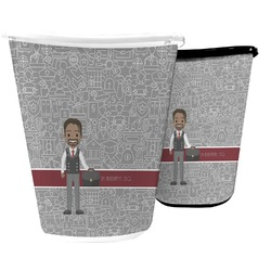 Lawyer / Attorney Avatar Waste Basket (Personalized)