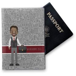 Lawyer / Attorney Avatar Vinyl Passport Holder (Personalized)