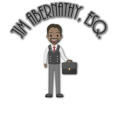 Lawyer / Attorney Avatar Graphic Decal - Custom Sizes (Personalized)