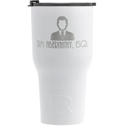 Lawyer / Attorney Avatar RTIC Tumbler - White (Personalized)