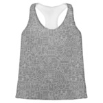 Lawyer / Attorney Avatar Womens Racerback Tank Top (Personalized)