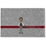Lawyer / Attorney Avatar Woven Mat (Personalized)