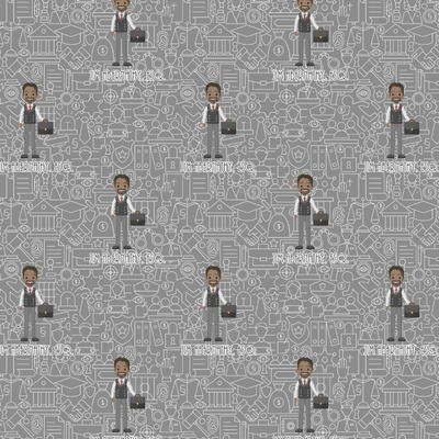Lawyer / Attorney Avatar Wrapping Paper (Personalized)