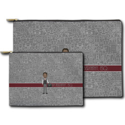 Lawyer / Attorney Avatar Zipper Pouch (Personalized)