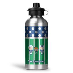 Football Water Bottle - Aluminum - 20 oz (Personalized)