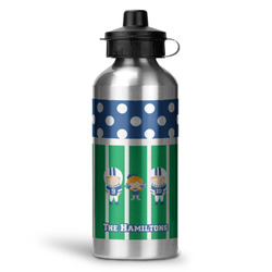 Football Water Bottle - Aluminum - 20 oz (Personalized)