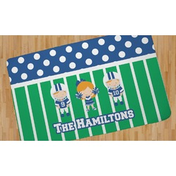 Football Area Rug (Personalized)