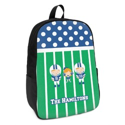 Football Kids Backpack (Personalized)