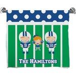 Football Bath Towel (Personalized)
