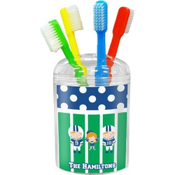 Football Toothbrush Holder (Personalized)