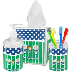 Football Bathroom Accessories Set (Personalized)