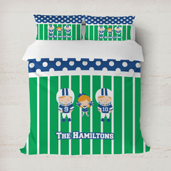 Football Duvet Cover (Personalized)