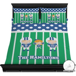 Football Duvet Cover Set (Personalized)