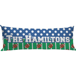 Football Body Pillow Case (Personalized)