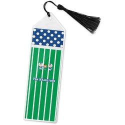 Football Book Mark w/Tassel (Personalized)
