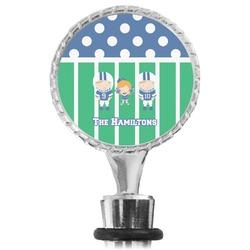 Football Wine Bottle Stopper (Personalized)
