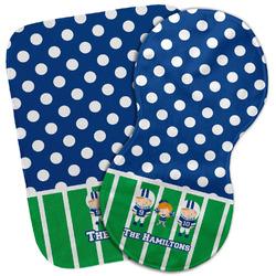 Football Burp Cloth (Personalized)