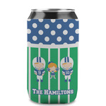 Football Can Sleeve (12 oz) (Personalized)