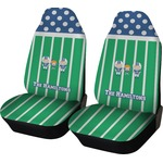 Football Car Seat Covers (Set of Two) (Personalized)