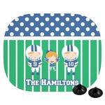 Football Car Side Window Sun Shade (Personalized)