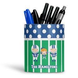 Football Ceramic Pen Holder