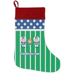 Football Holiday Stocking w/ Multiple Names