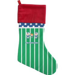 Football Christmas Stocking (Personalized)
