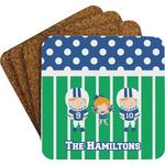 Football Coaster Set (Personalized)