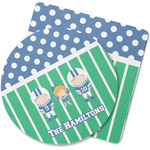 Football Rubber Backed Coaster (Personalized)