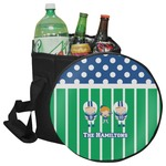 Football Collapsible Cooler & Seat (Personalized)
