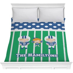 Football Comforter (Personalized)