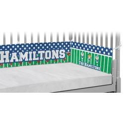 Football Crib Bumper Pads (Personalized)